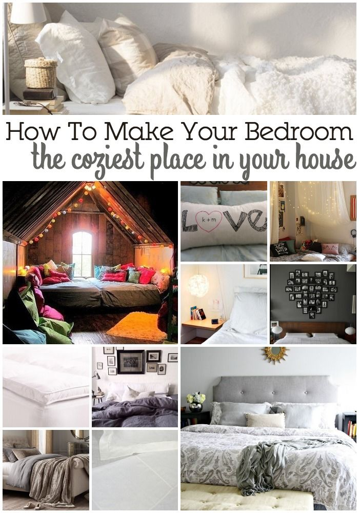 Decor hacks 15 ways to make your bedroom the coziest for Places to get home decor